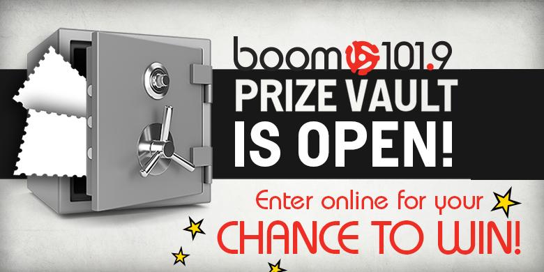 boom Prize Vault Is OPEN!