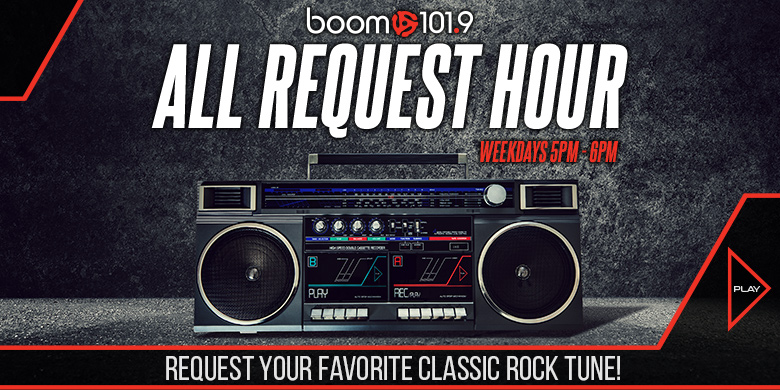 boom 101.9's All Request Hour