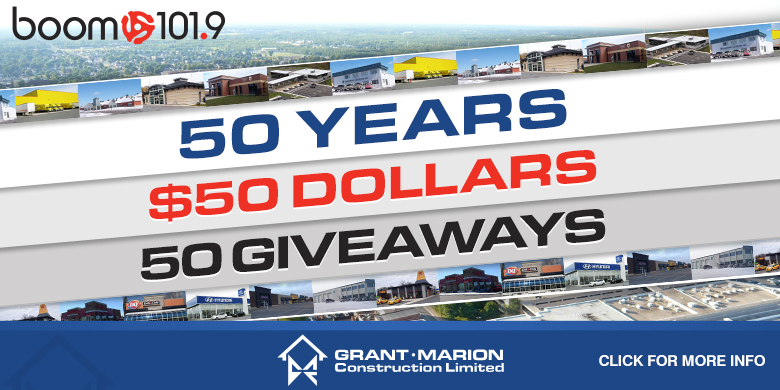 50 years, 50 dollars, 50 giveaways