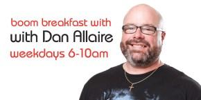 The boom breakfast with Dan Allaire