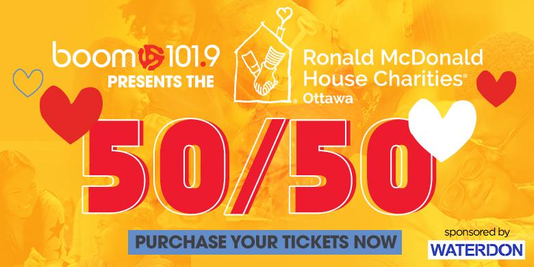 Ronald McDonald House 50/50